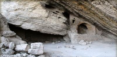 Грот Голицына и гора Орел (Коба-Кая, в переводе значит Пещерная скала)