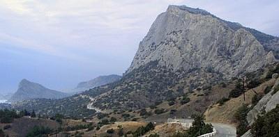 Гора Сокол (Куш-Кая, в переводе Птичья скала)